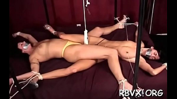 Tie, Spanked, Pussy spanking