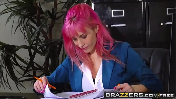 Brazzers, Leather, Spank mom, Mom spank