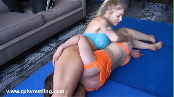 Catfight, Fight, Headscissor, Facesitting femdom