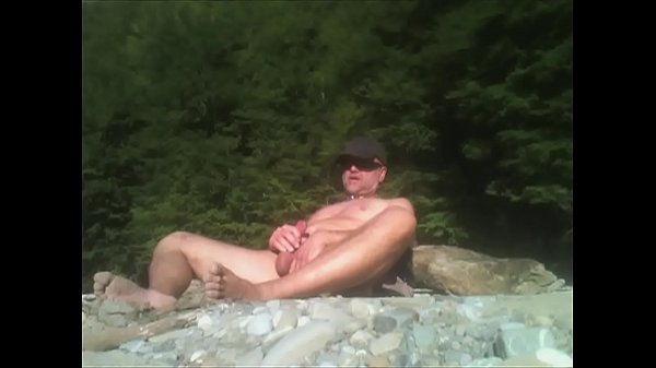 Gay beach, Masturbation orgasm, Nudist, Jerking off