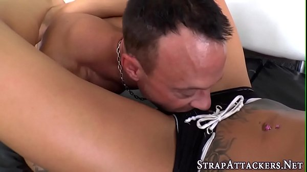 Pegging, Strapon, Mouth cum, Cum filled