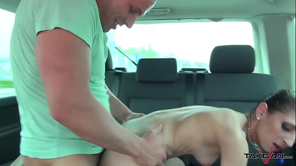 Taxi, Drive, Cum on ass, Crying