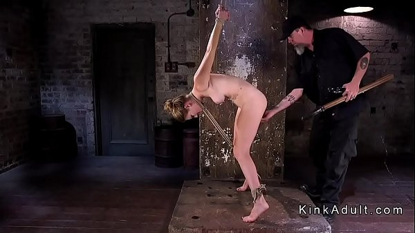 Caning, Slave, Tied, Hogtied