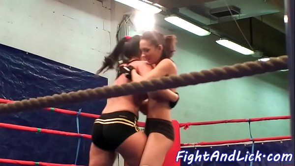 Wrestling, Catfight, Sexfight, Lesbian domination