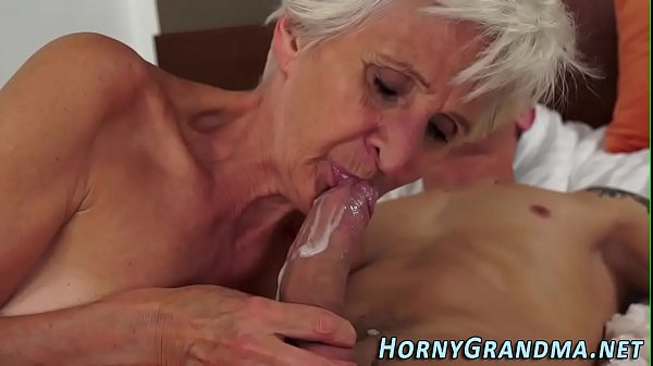 Cum in mouth, Hardcore, Oldwoman, Mouth cum