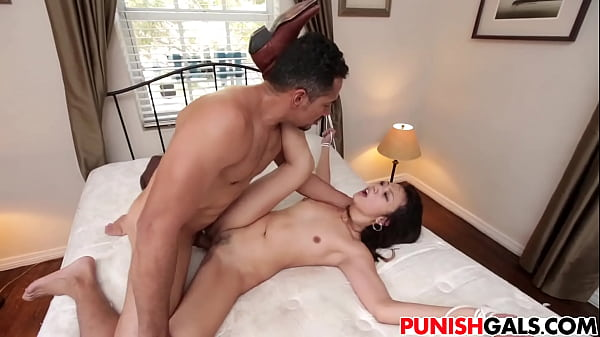 Asian bdsm, Punishment, Throat, Asian spank, Asian deepthroat