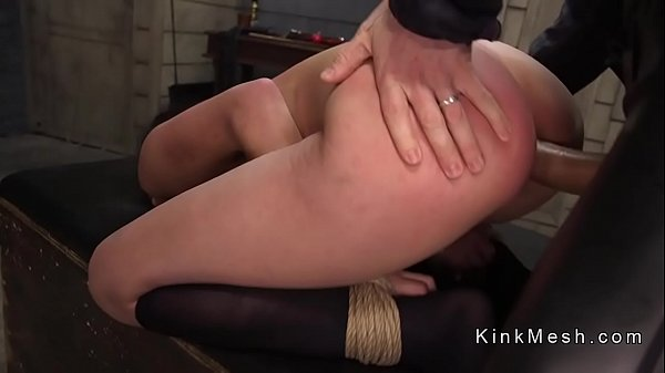 Slave, Tied, Deep fuck, Gagging, Anal pain