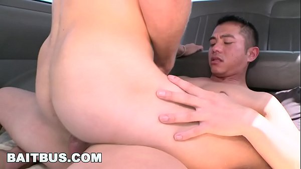 Asian gay, Bus fuck, Asian bus